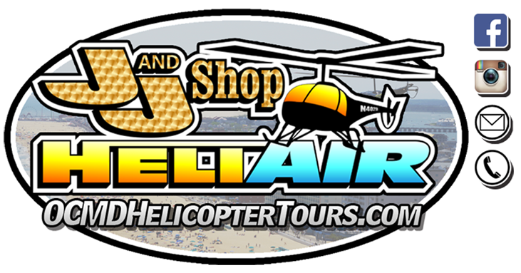 OCMD Helicopter Tours | HOME - J&J Shop Heliair